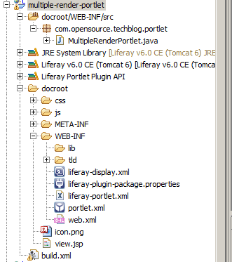 How to create Friendly URL for Liferay portlet - project structure
