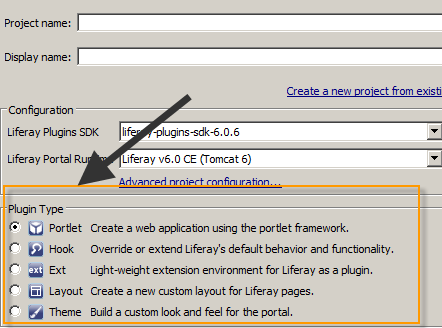 How to create multiple portlets in single Liferay plugin project - plugin-type