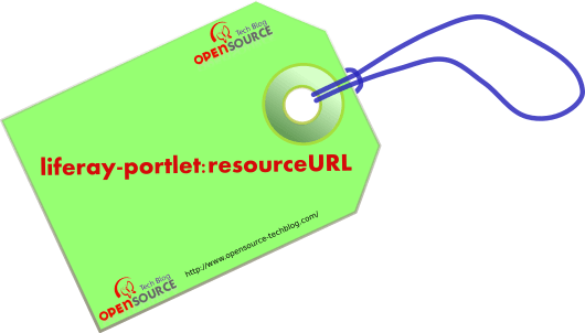Resource URL by liferay-portlet:resourceURL Tag
