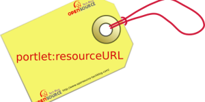 Resource URL by portlet tag portlet:resourceURL