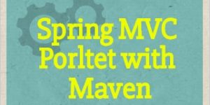 Create maven Spring MVC Portlet in Liferay