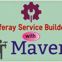 Easy way to create Liferay maven service builder