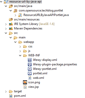 create resource URL programmatically in Portlet class and JSP - Tech
